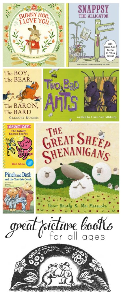 Eight fantastic picture books - new and old - that your whole family will love!
