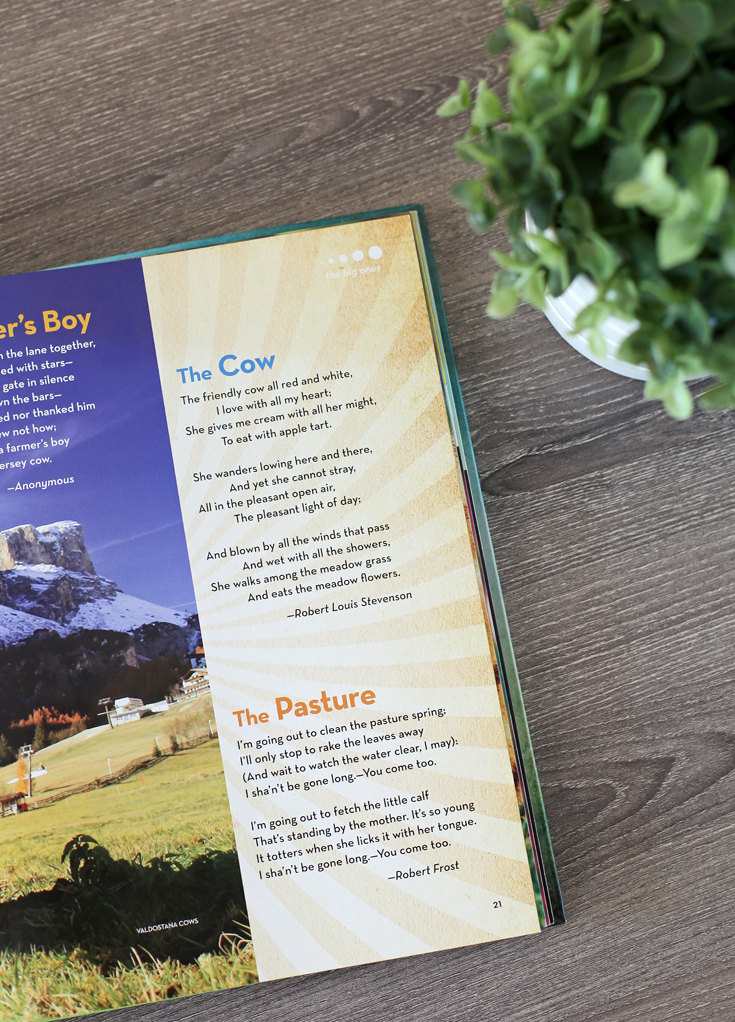 Tips and suggestions for helping your child memorize poetry