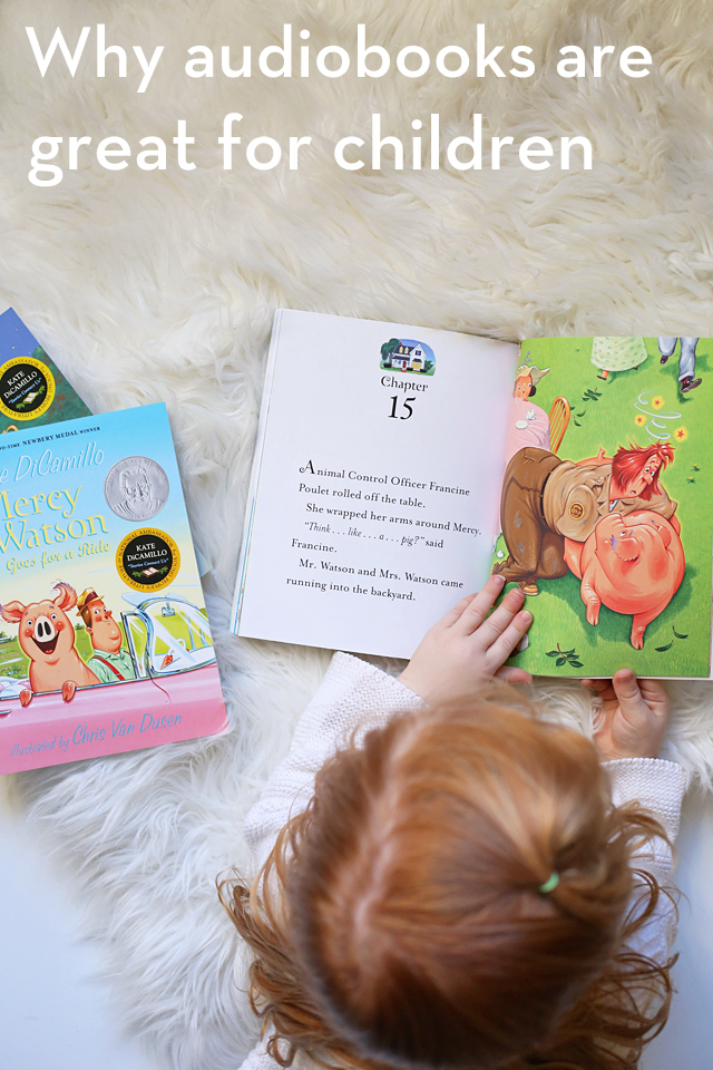 Wondering if you should try out audiobooks with your children? Here's why they're so beneficial!