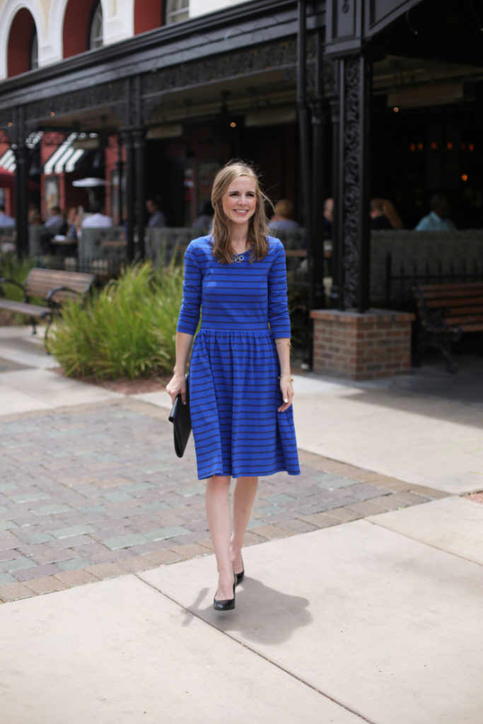 A perfect summer dress - thick enough to wear alone, plus pockets!