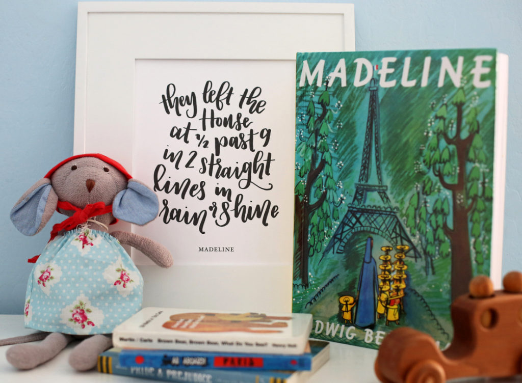 The most darling free printable from Madeline!