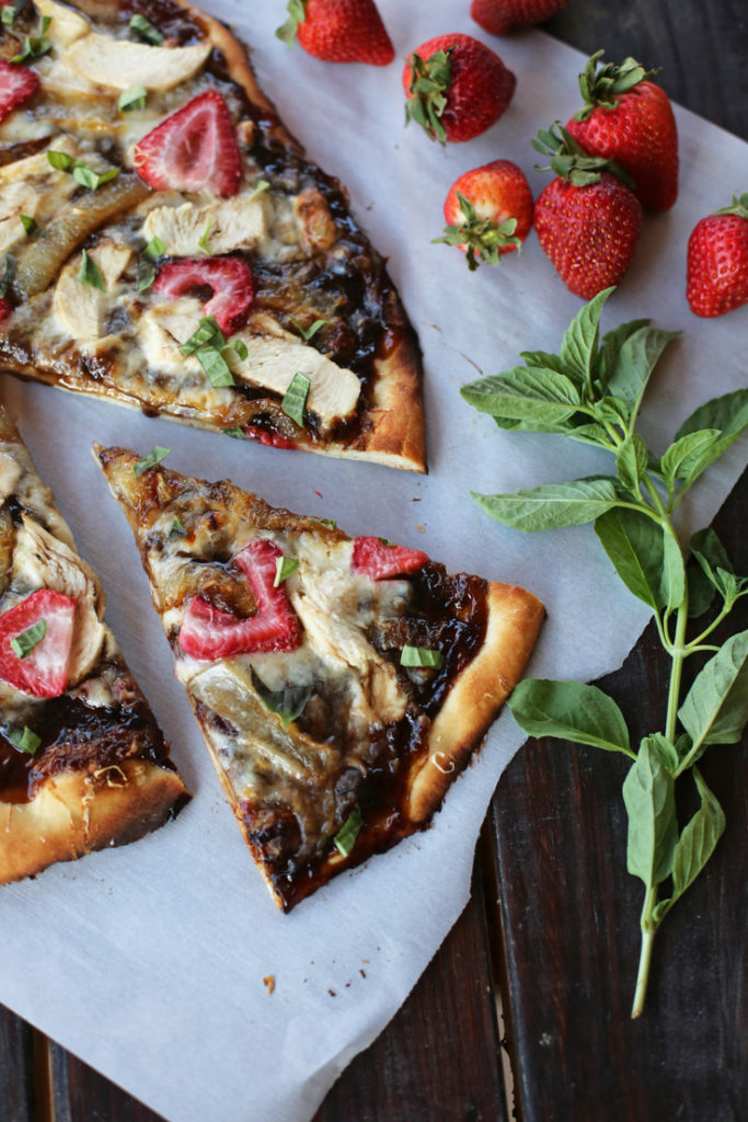 strawberry on pizza