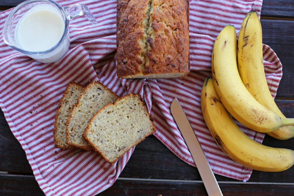 The easiest and best banana bread ever!
