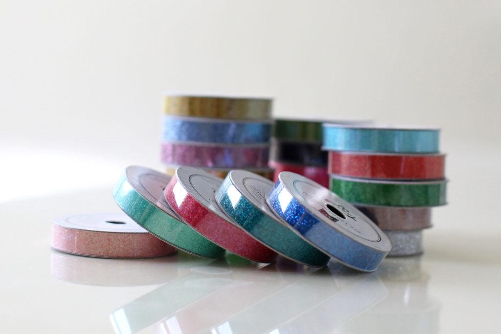 An easy washi tape DIY growth chart