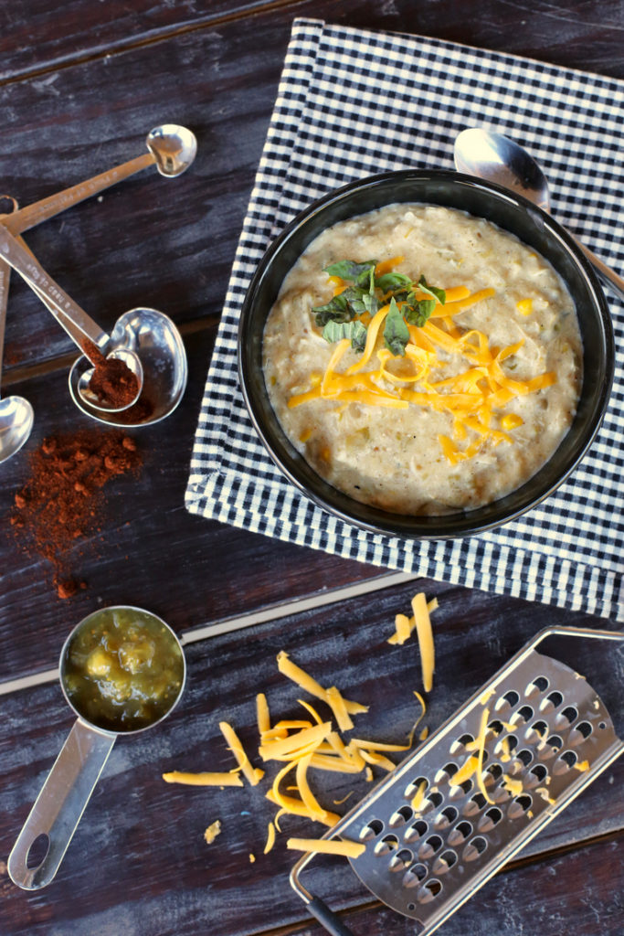 The easiest and BEST crockpot soup you'll ever eat. So hearty and filling and perfect for fall and winter.
