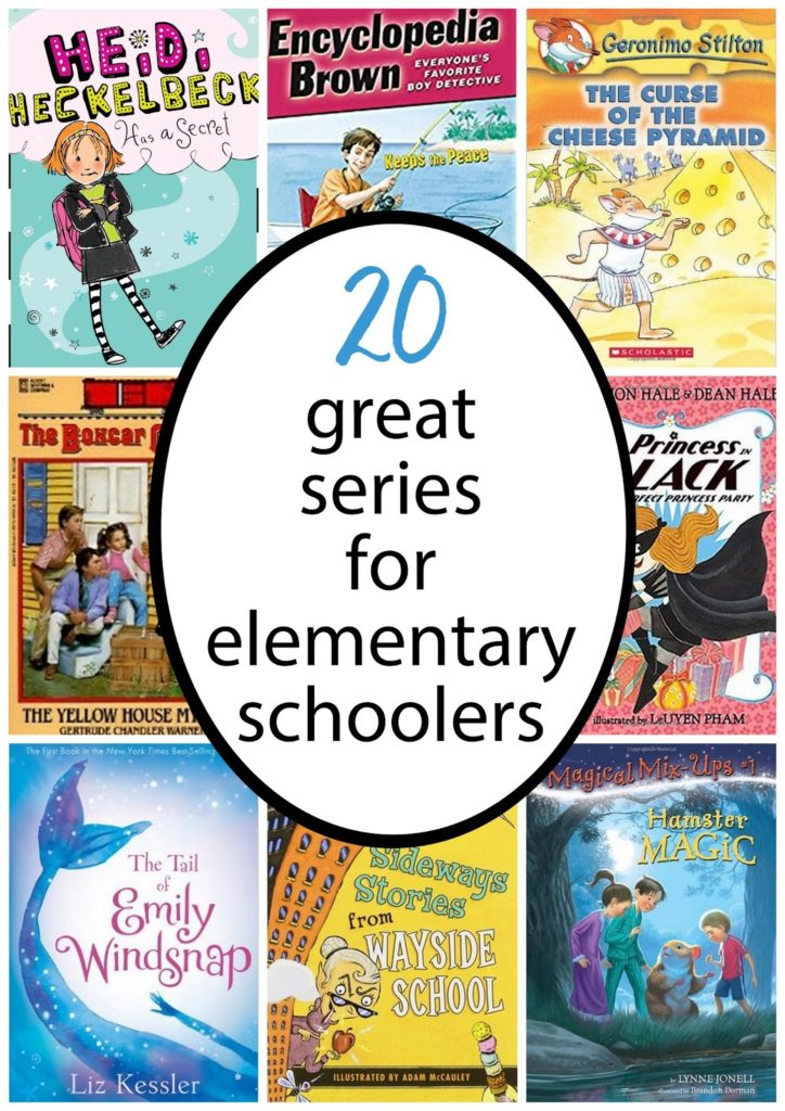 Fantastic chapter book series for elementary school readers