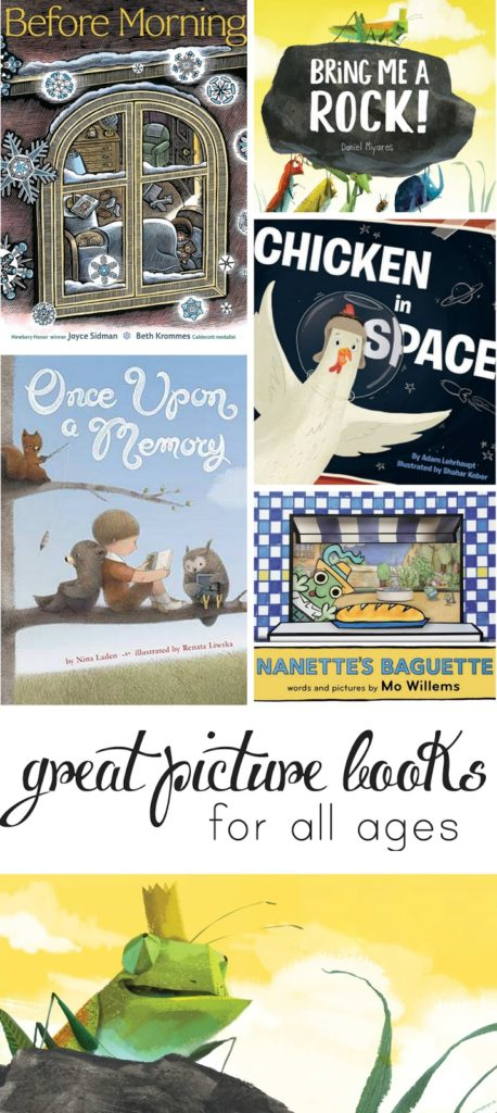 Really great new picture books your whole family will love!