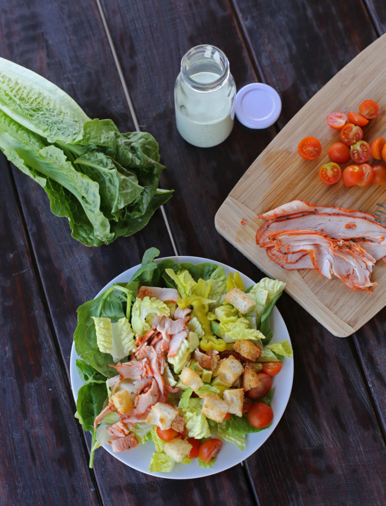 An easy and delicious lunch you can toss together in five minutes!