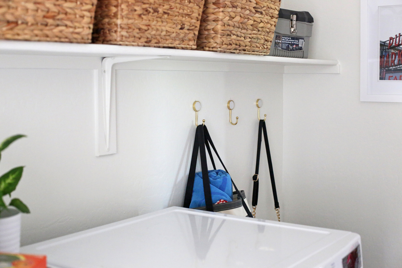 Update a totally boring laundry room