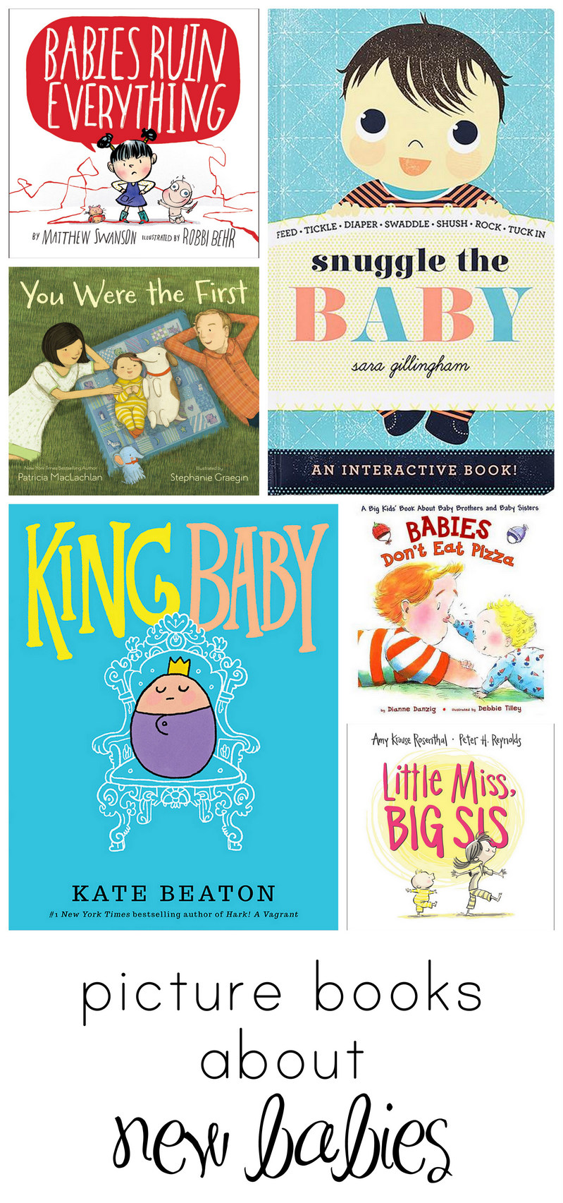 books about becoming a big sister