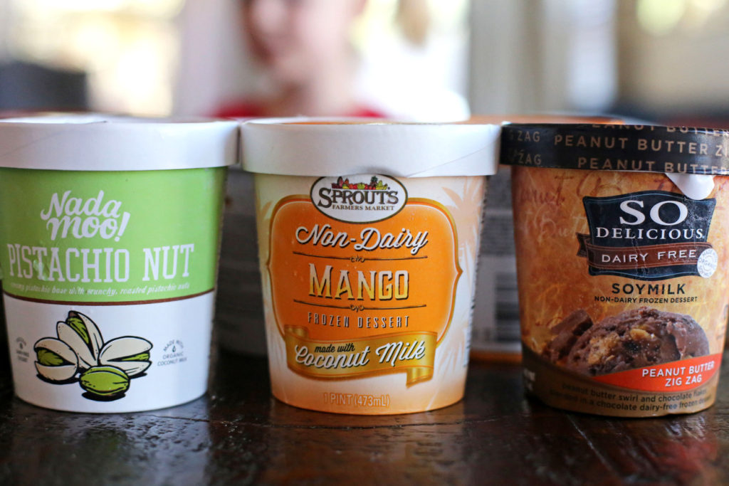 The best dairy free ice creams!