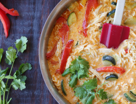 Delicious thai noodles made in one pot!