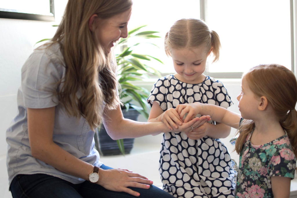 Tricks for busy moms