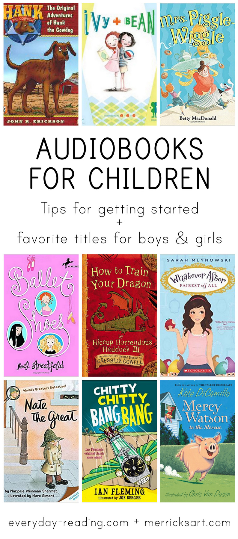 The best audiobooks for kids