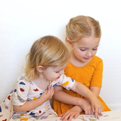 A printable list of 100 picture books to read with your children