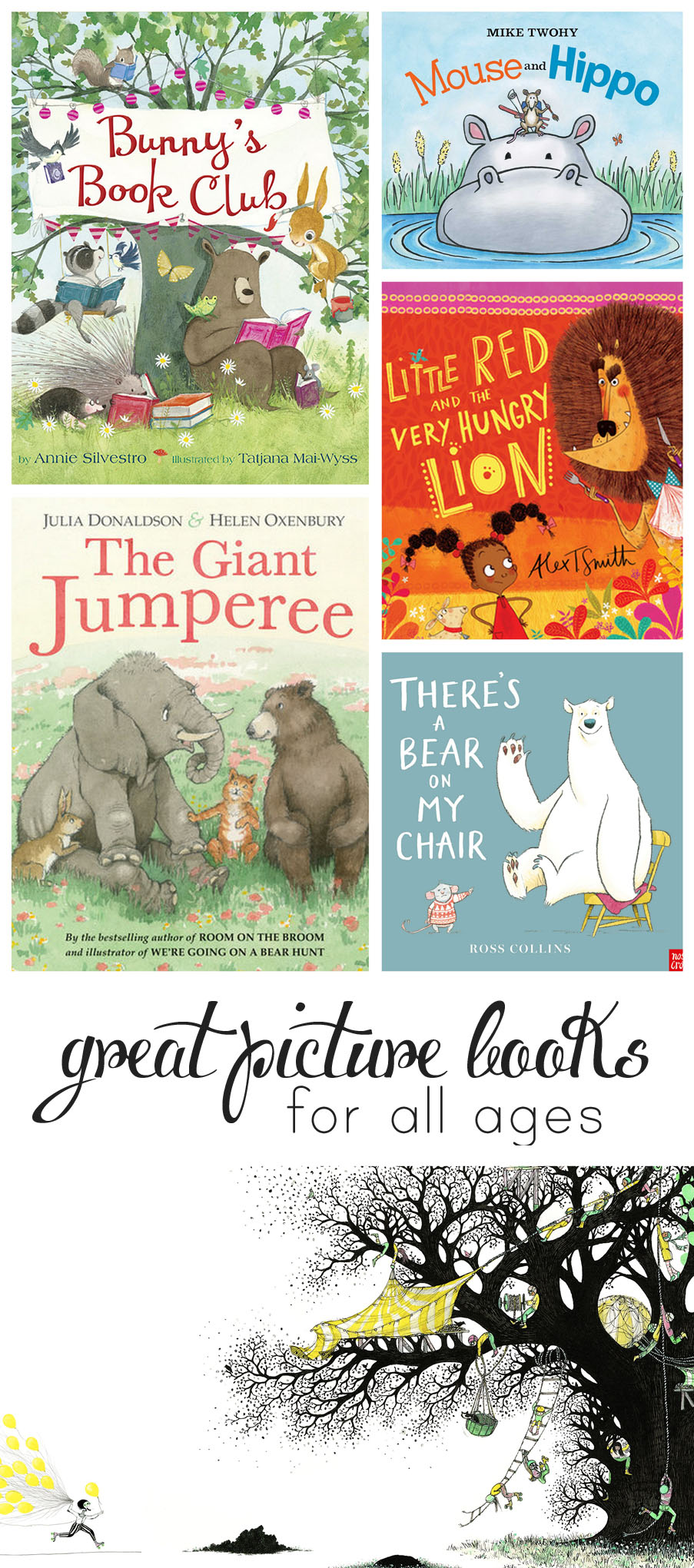 Picture books selected by a mom and librarian