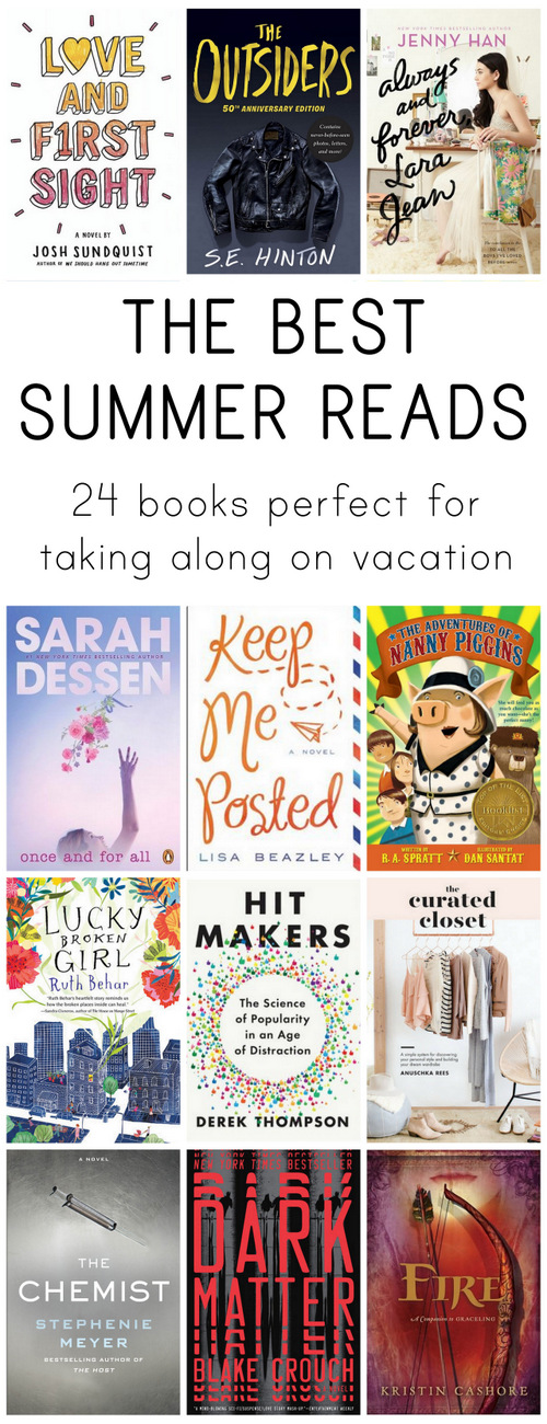 Great books for everyone to read this summer!