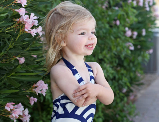 The cutest swimsuits from @teacollection and a $25 off coupon!
