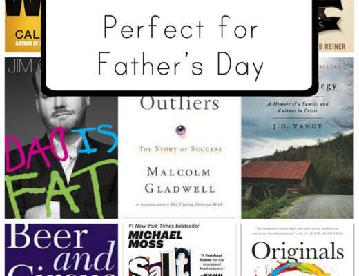 The best non-fiction titles for men for Father's Day