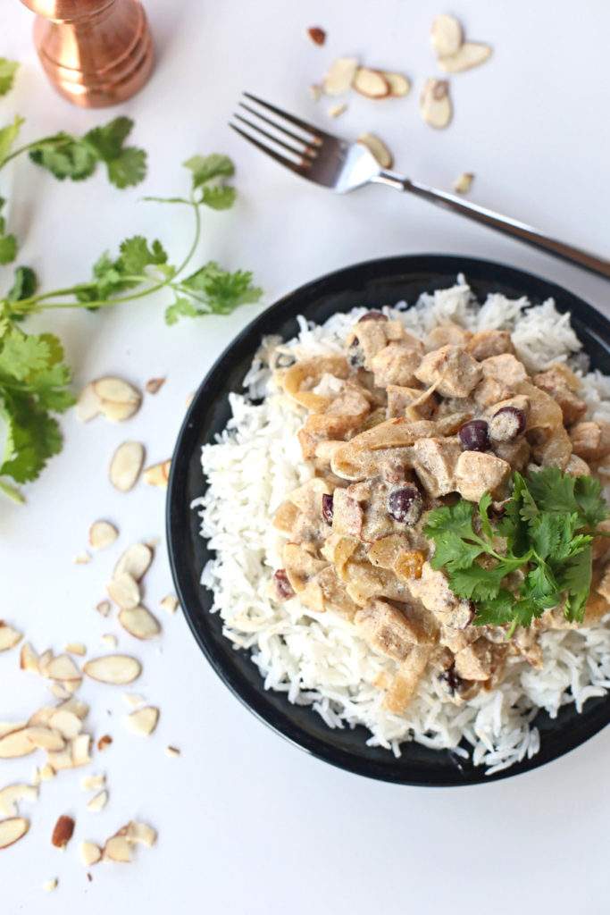 Cranberry And Almond Curry Everyday Reading