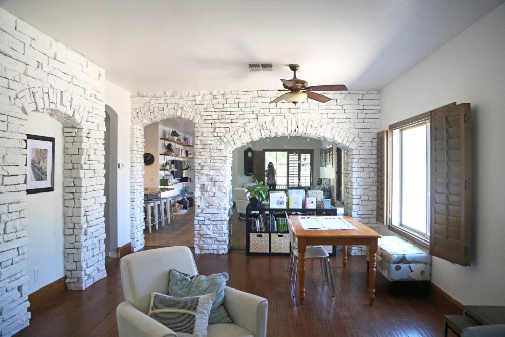 Painting Interior Stone