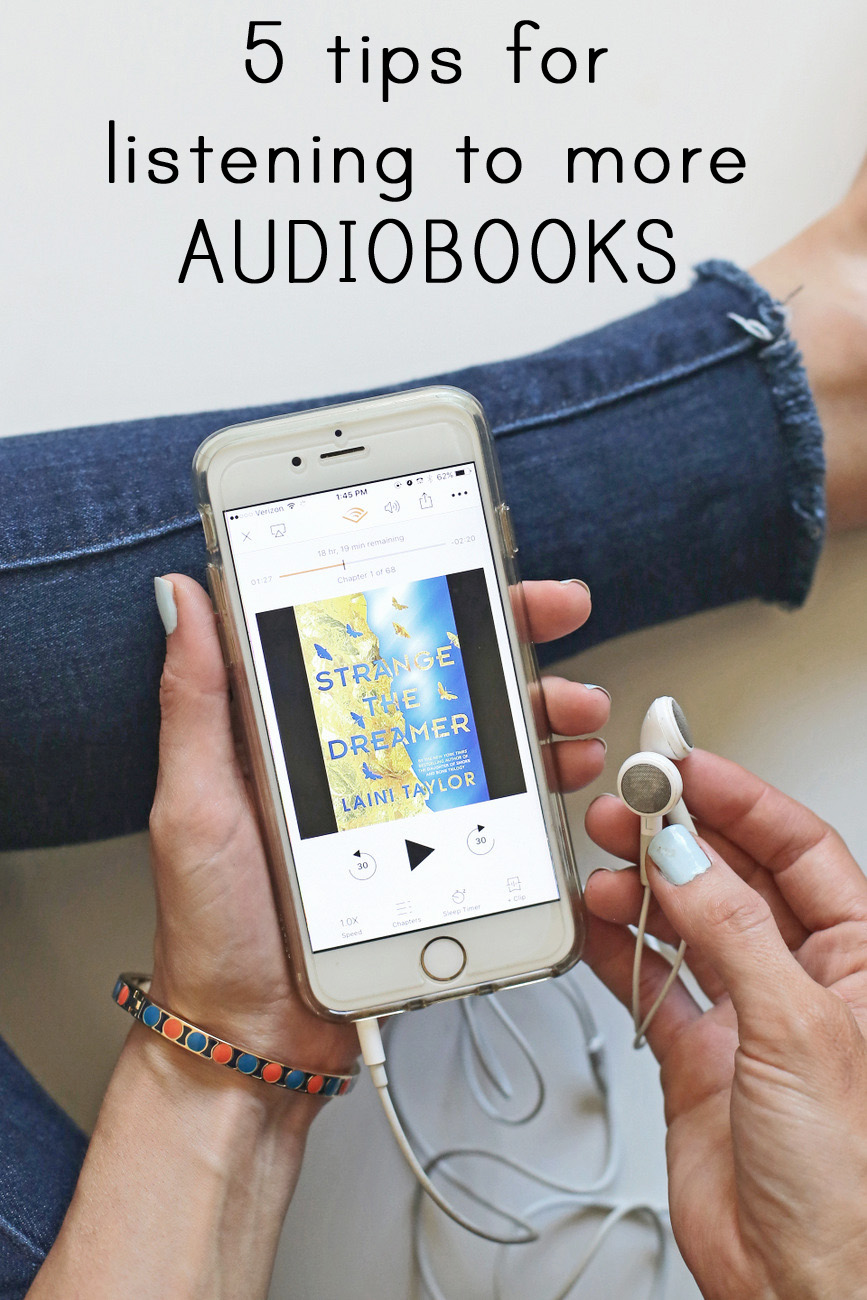 fitting in more audiobooks