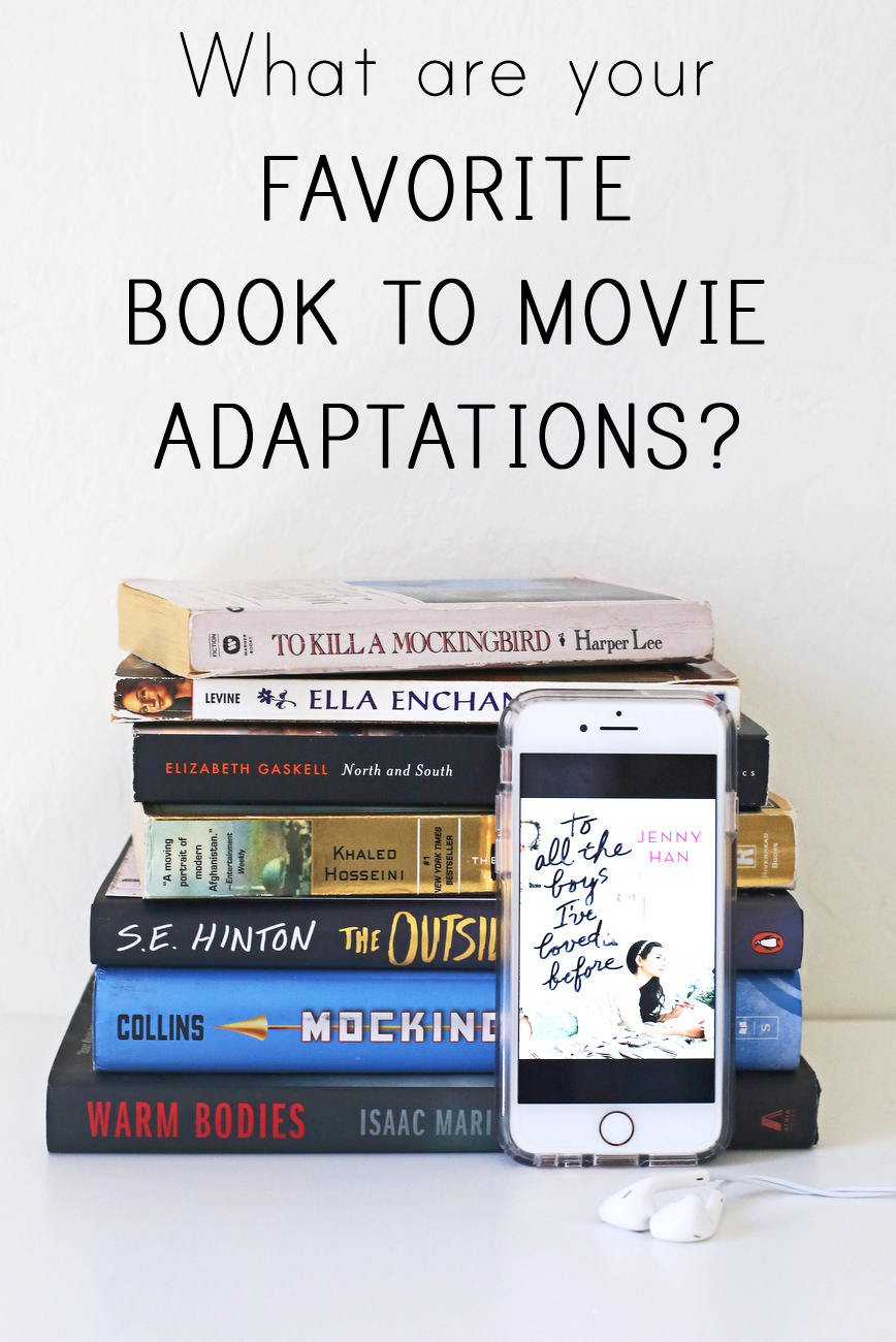 book to movie adaptations