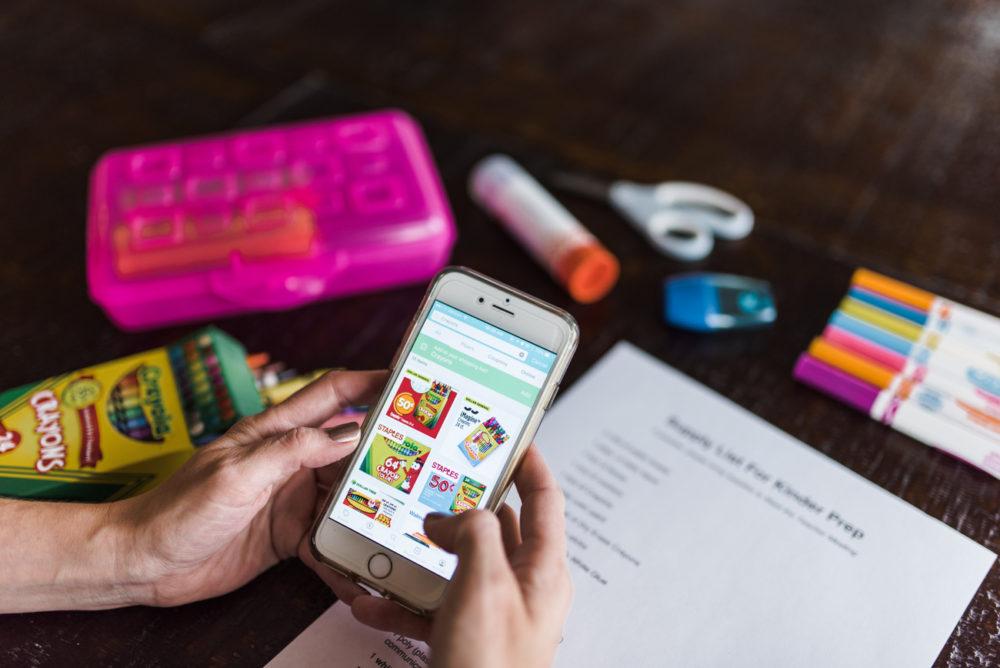 best money saving app for groceries and school supplies