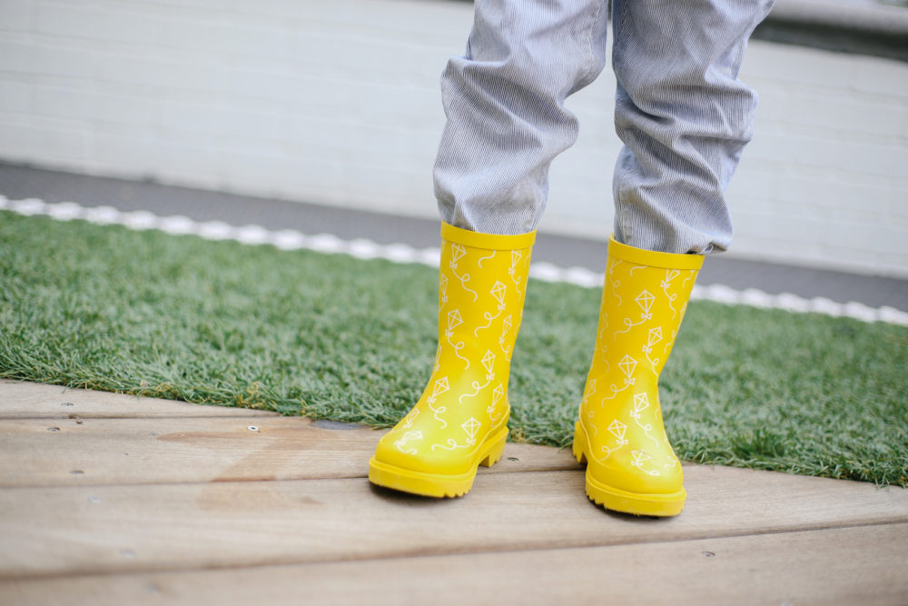 cutest rain boots for kids
