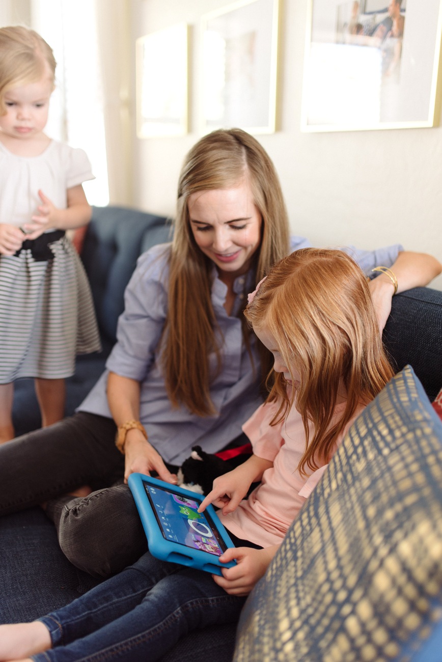 Five benefits of screen time for our family and why the Amazon Fire 8 HD Kids Edition Tablet is such a great fit for our young family