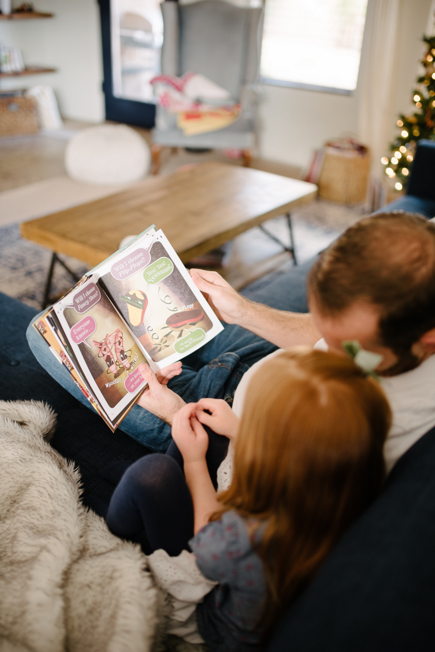 Six easy ways that dads encourage reading in their children and help develop a family culture around books and reading for everyone