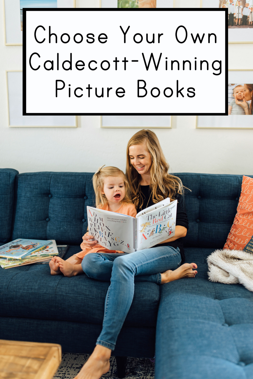 25 new picture books to use for your own family mock Caldecott - pick your favorites and see how they stack up with the winners!