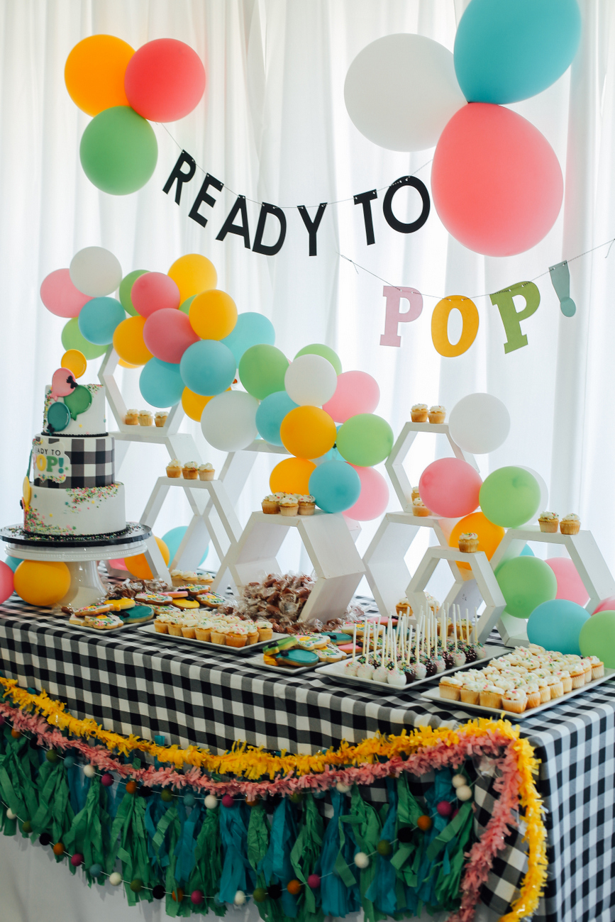 The cutest Ready to Pop baby shower ideas