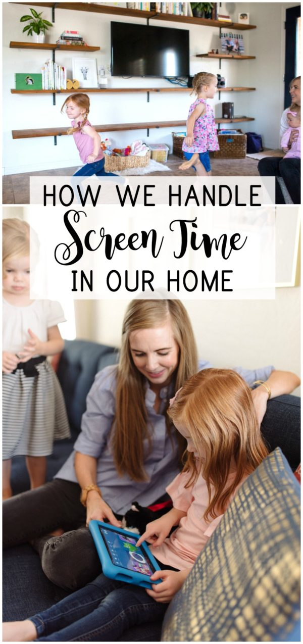 Screen time is always a hot button among parents, but we have found what screen time method works for our family.