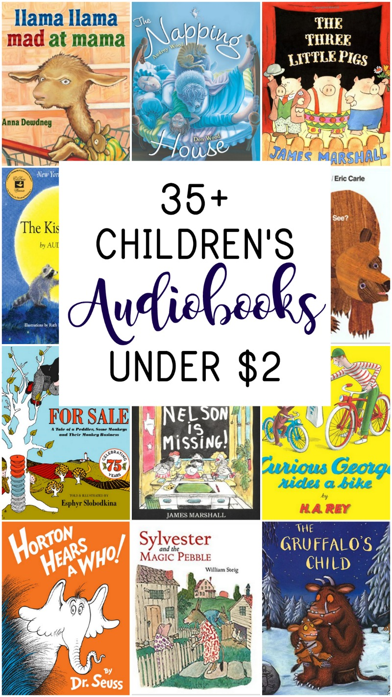these 35 audio books for kids are less than 2 and the best audiobooks to add - Picture For Kids