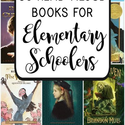 Wondering what the best read aloud books for elementary schoolers are? This list of 35 read aloud stories will keep your family or classroom riveted!