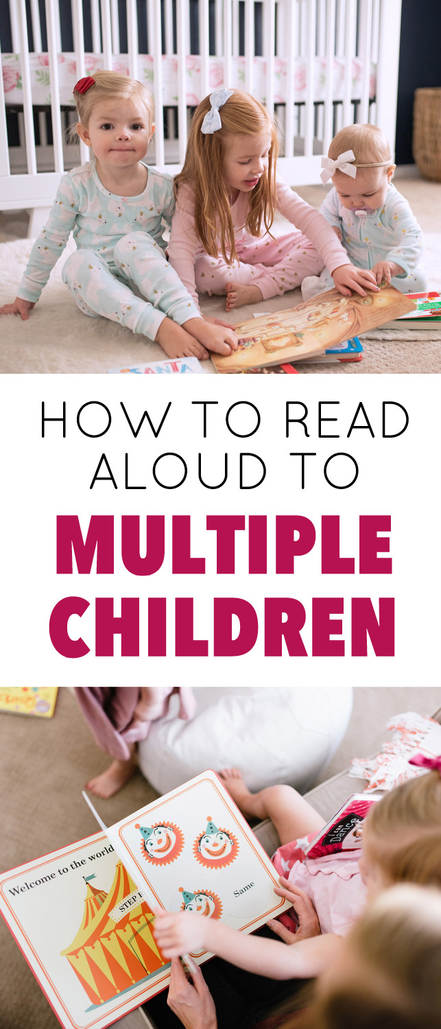 reading to multiple children