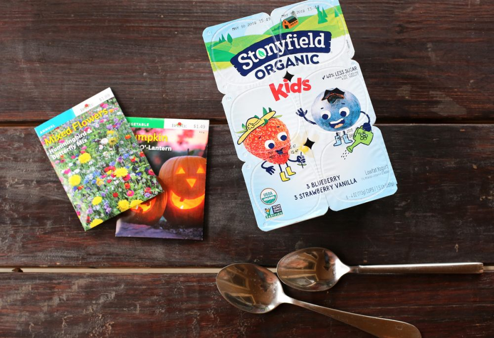 Earth Day ideas with Stonyfield