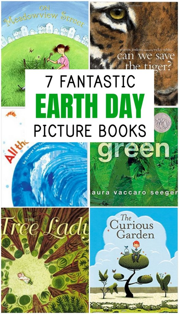 Earth Day Books for Preschoolers and Elementary Schoolers