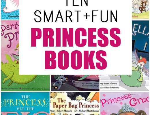 This list of princess books are all gems and full of great heroines that your daughter can look up to.
