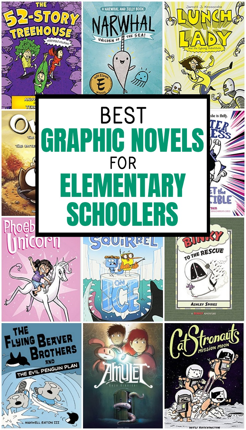 graphic novels for kids