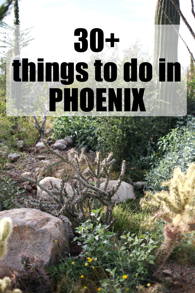 30+ things to do in Phoenix