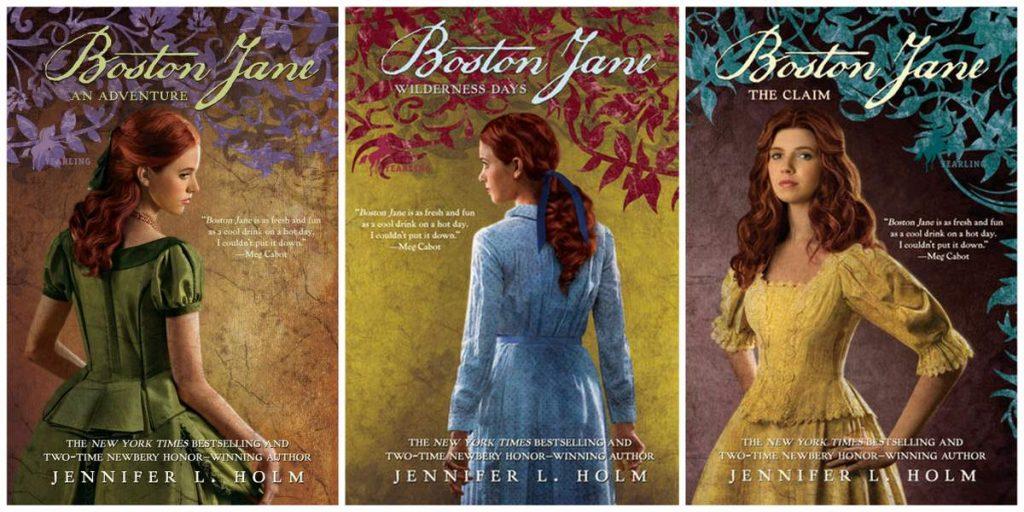 Boston Jane: A Series by Jennifer L  Holm - Everyday Reading