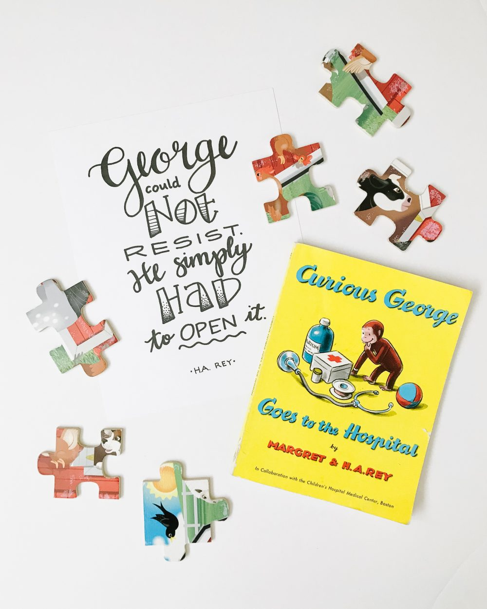 Curious George Quote