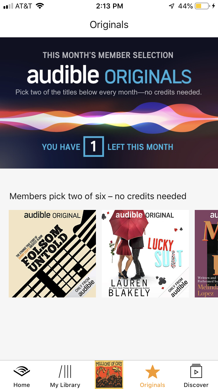 What are Audible Originals