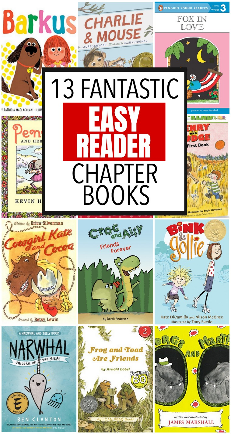 early reader chapter books