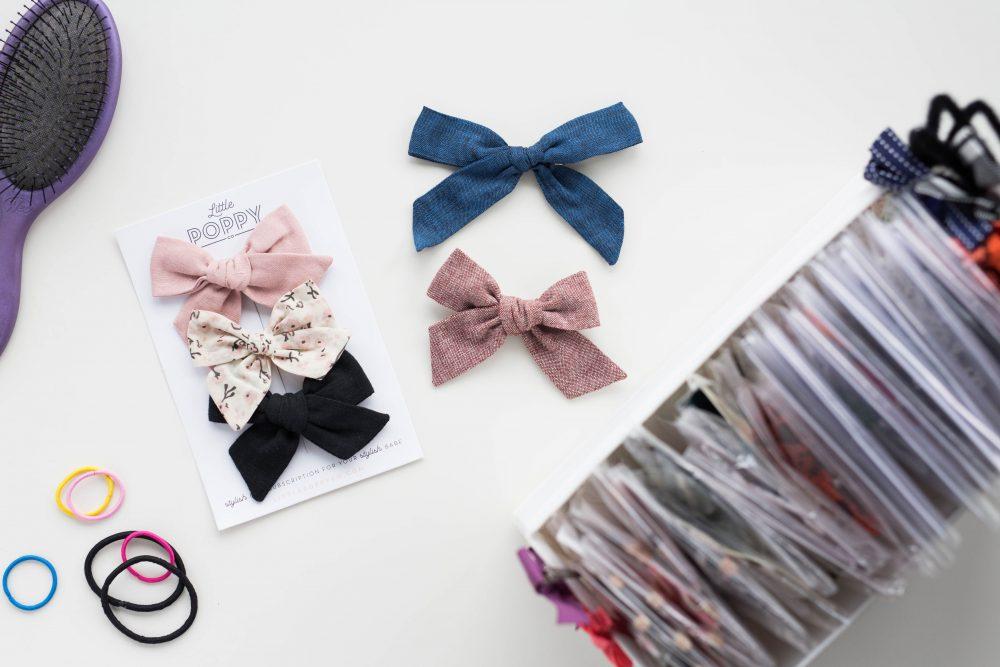 hair bow organizer
