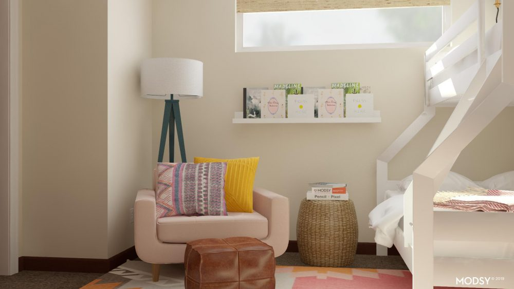 How Modsy Saved My Girls' Shared Bedroom - Everyday Reading
