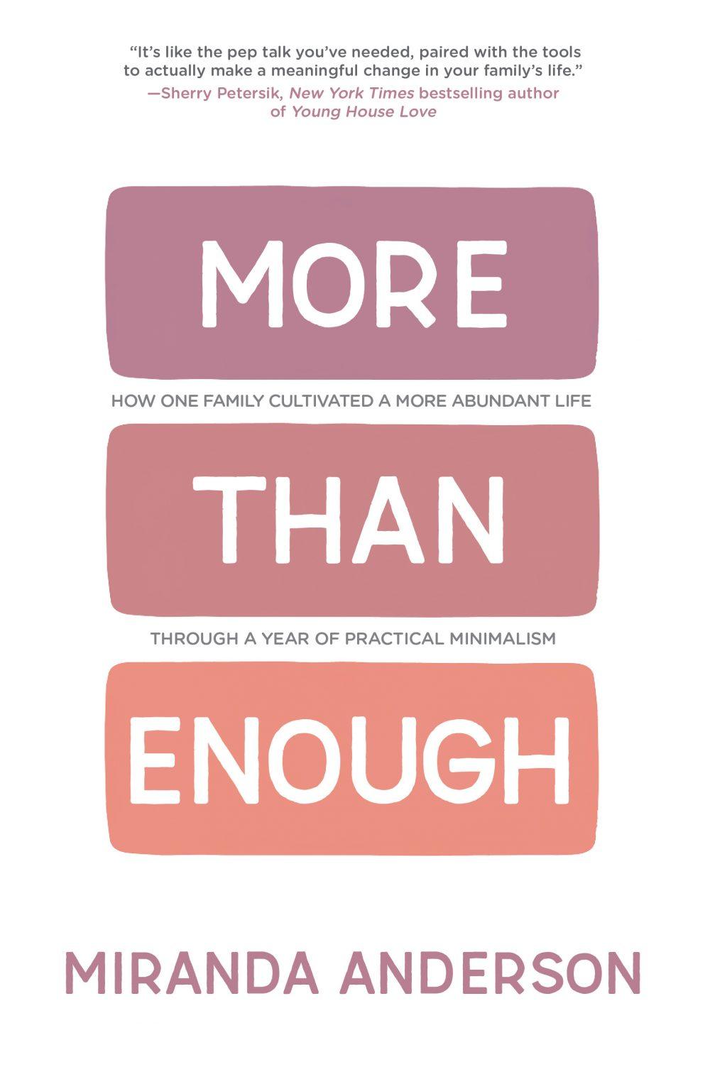 More than enough by Miranda Anderson