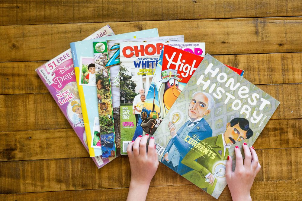 childrens magazines